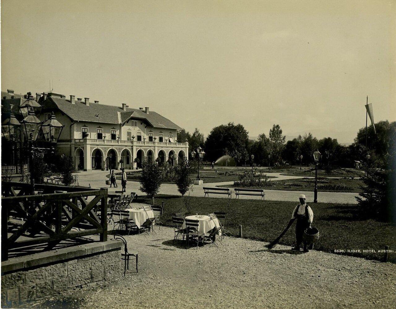 Босния и Герцеговина, Илиджа. Отель Австрия