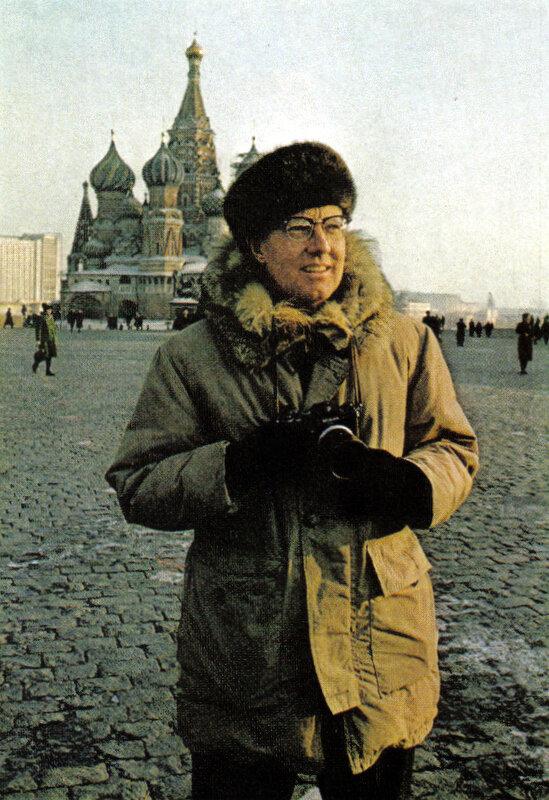 Дин Кондер на Красной площади. 1977