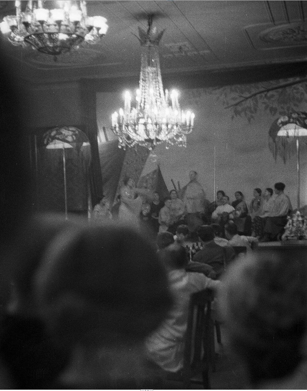 16. Метрополь. Исполнители на сцене ресторана гостиницы
