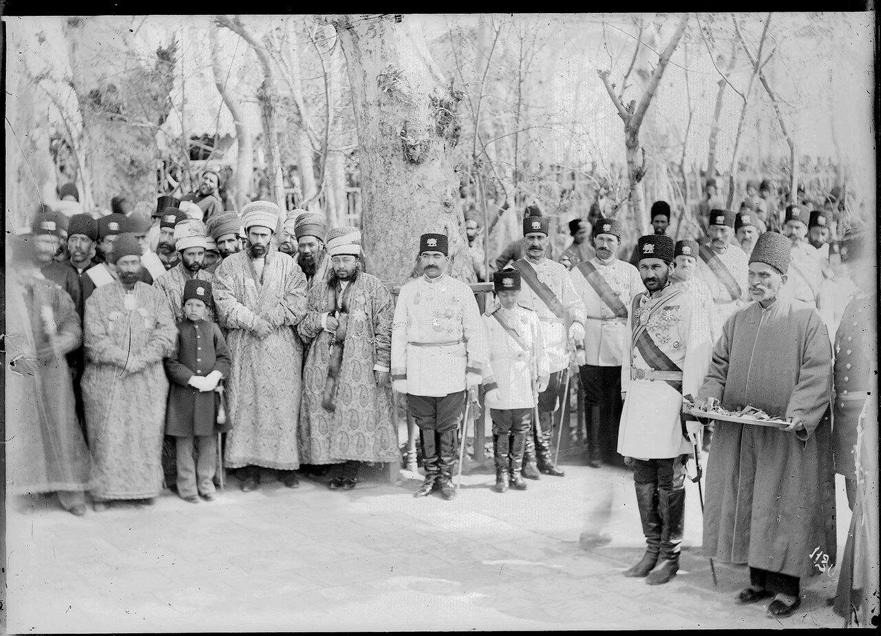 Тегеран. Во дворе дворцового комплекса Гулистан. Навруз