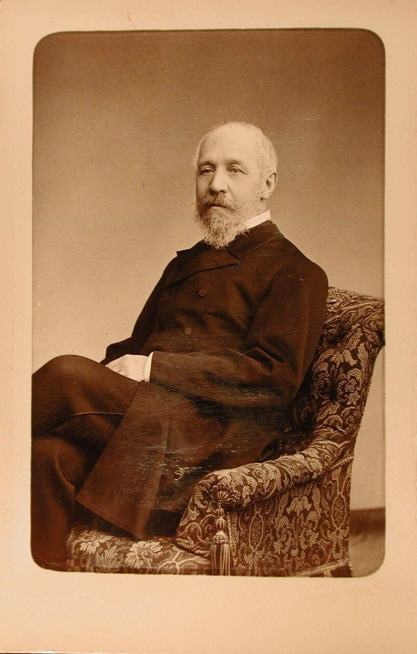 28. Мансуров Борис Павлович (1826 - 1910) - действительный тайный советник, статс-секретарь, член Государственного совета