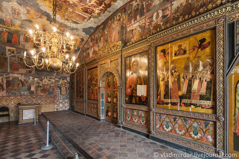 Покровский придел Храма Пророка Ильи в Ярославле