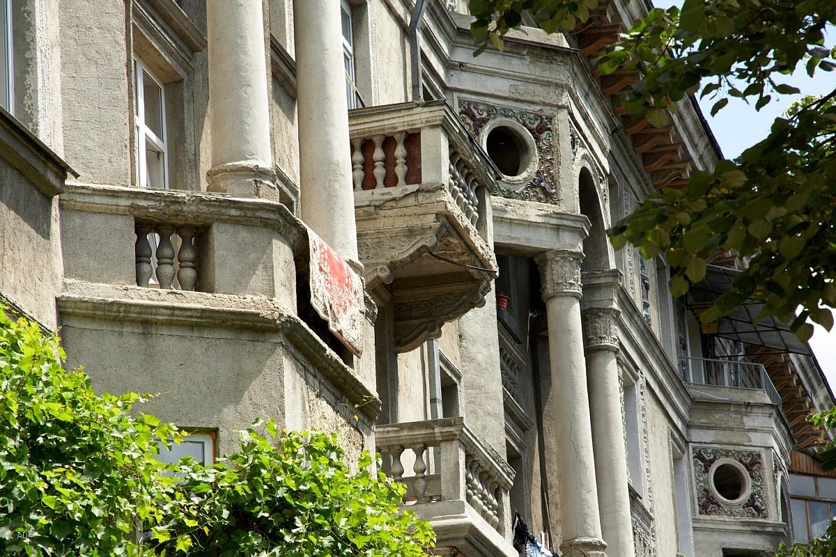 Жилой дом. Построен в начале 50-х годов XX века.
