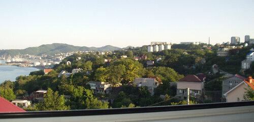 Из окна. г. Туапсе.
