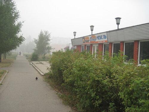 Дым в Обнинске