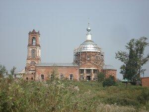 Свято-Никольская церковь в Ославском