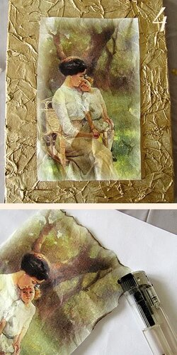 """Pintura """"Foto de la buhardilla"""""""