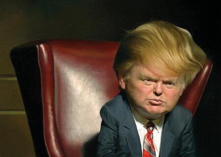 Карикатуры Джейсон Сэйлер (Jason Seiler)Дональд Трамп (Donald Trump)