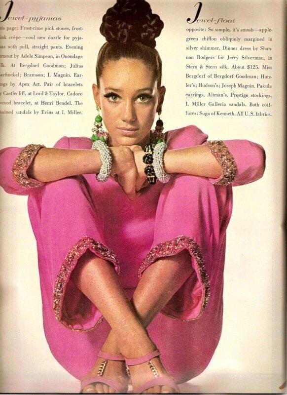 fashion 50s.Винтажная мода 50-60гг.