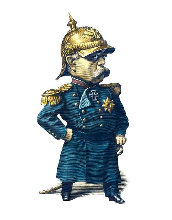 Bismarck,cartoonist  MarkSummers.