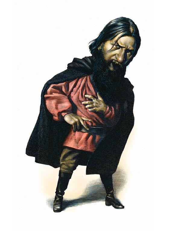 Rasputin,cartoonist  MarkSummers.