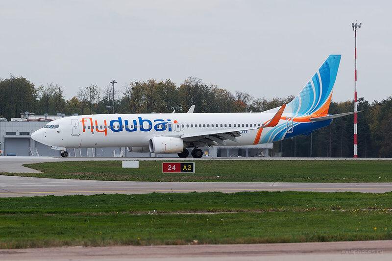 Boeing 737-8KN (A6-FEL) Flydubai D807784