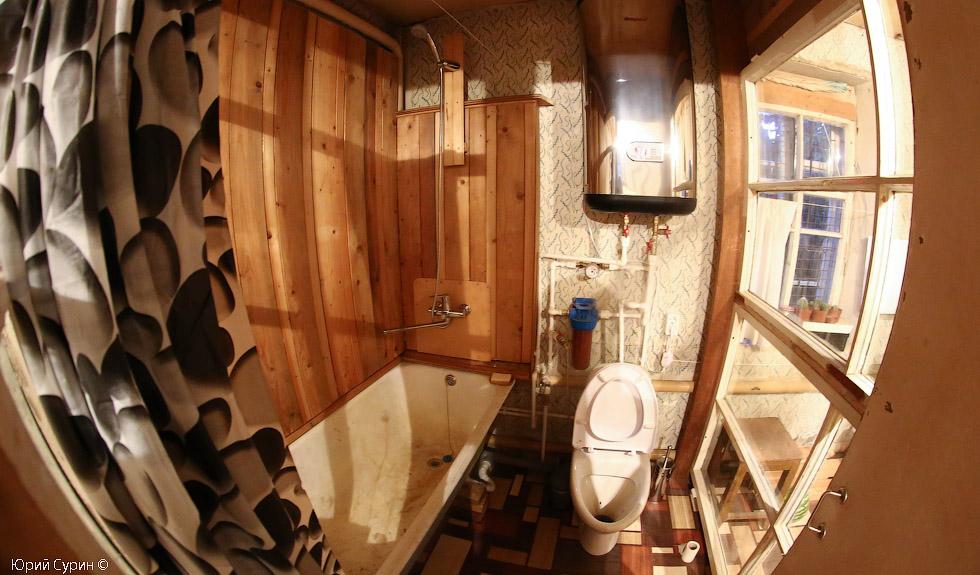 ванная комната, из старых рам, Тверь