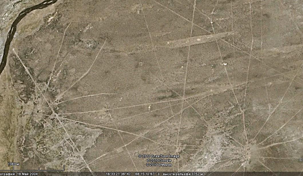 Сахамские линии – грандиозный геоглиф в Боливии Древности,Загадка,Боливия