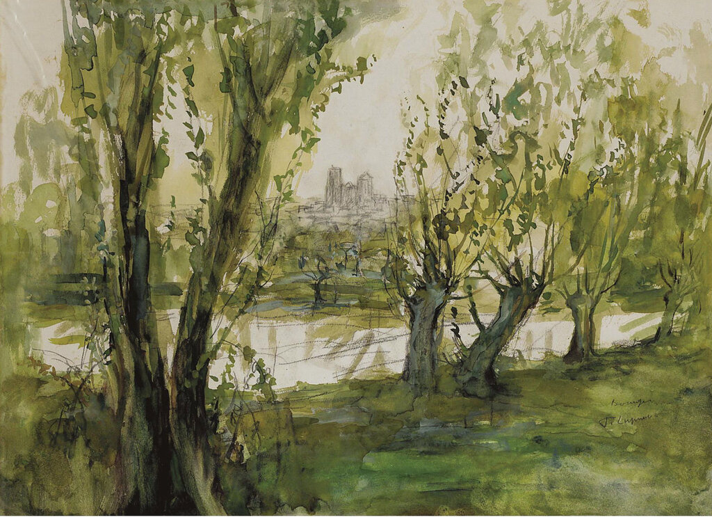 Pierre Laprade - View of Bourges.jpeg