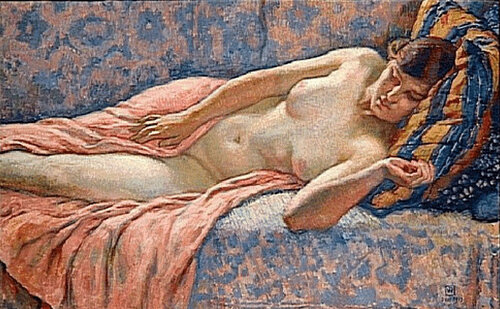 Etude of Female Nude, 1914.jpg