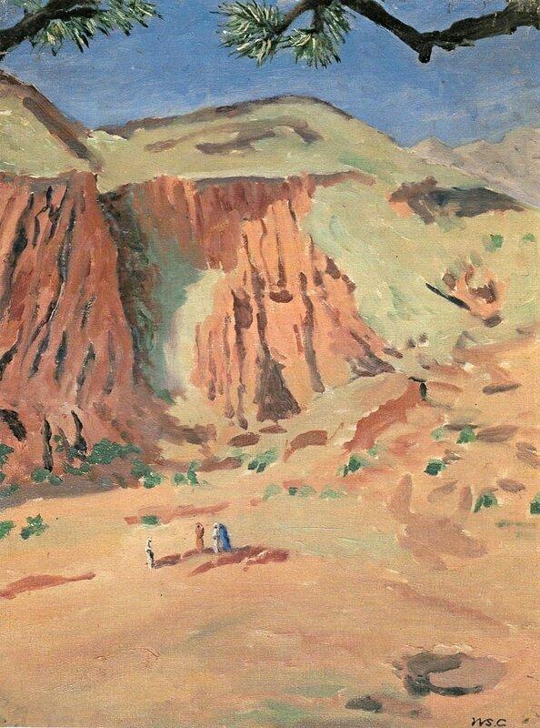 + 1950. Ущелье Тодра, Марокко.jpg