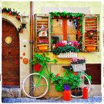 Floral Bike Photo