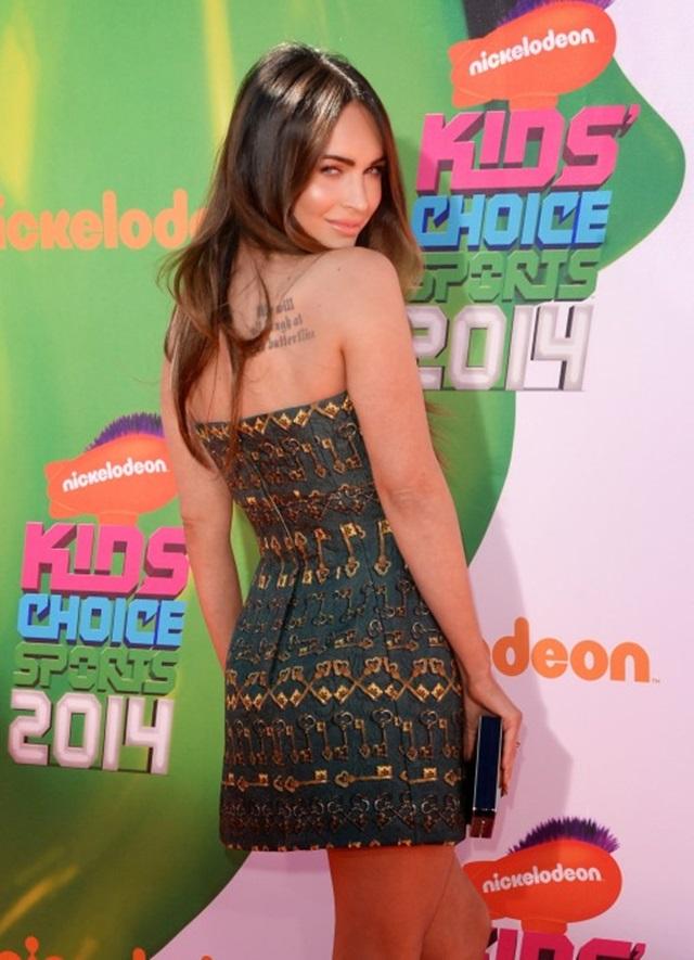 Меган Фокс на церемонии награждения премией Nickelodeon