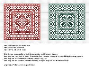бискорню схемы вышивки