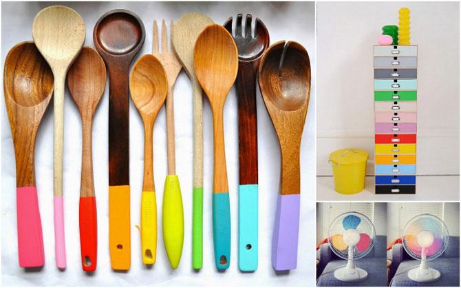 12 способів розфарбувати нудний інтер'єр за допомогою яскравих предметів