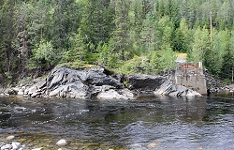 Центральная Норвегия. Долина реки Гаулы (Gaudal)