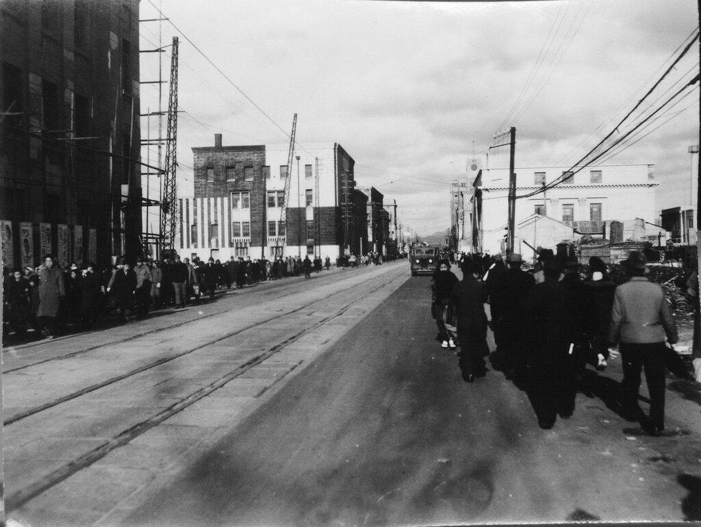 Fukuoka, Japan December 1945