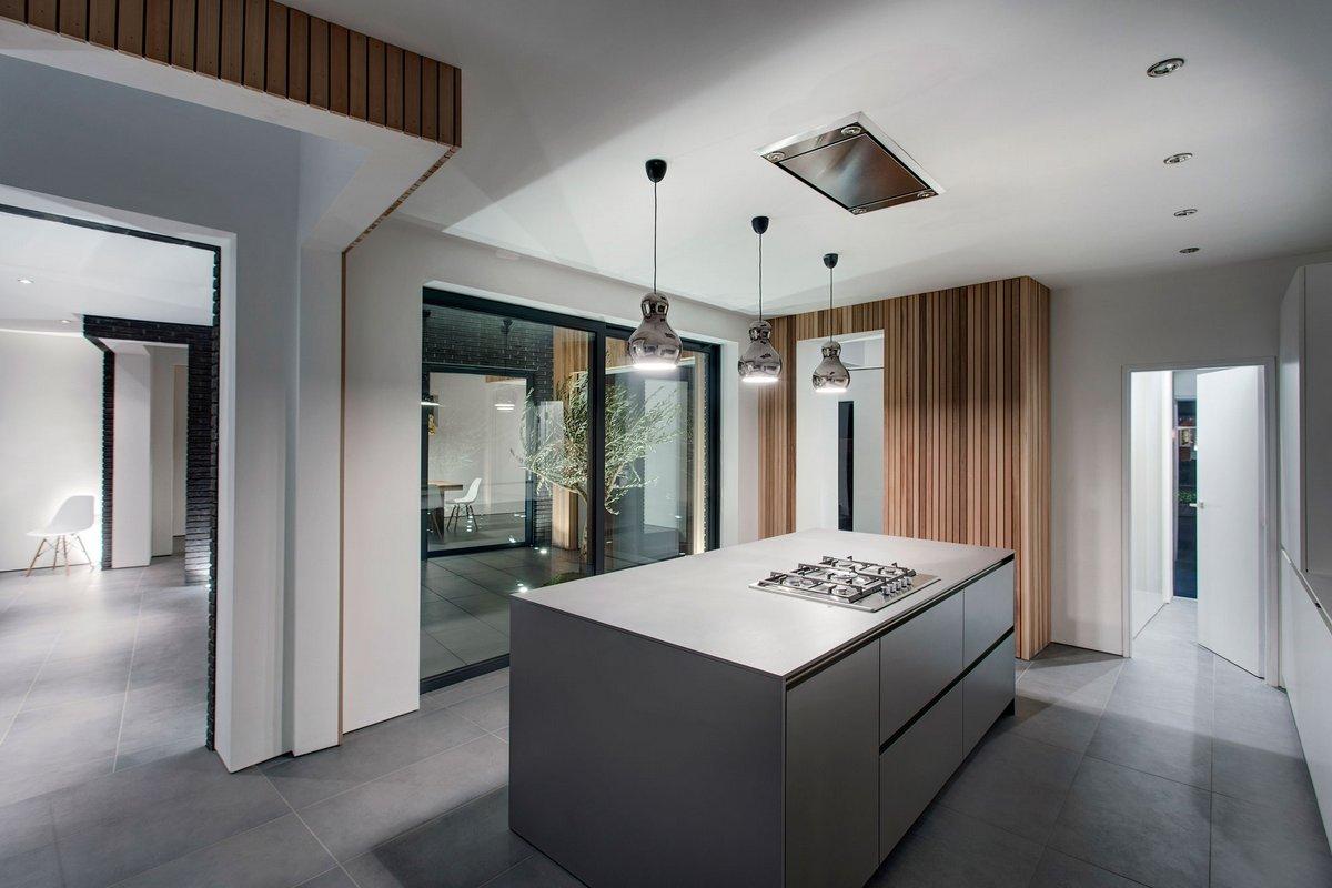 AR Design Studio, 4 Views, частные дома в Уничестере, особняки Хэмпшира, частный дом в Англии, частный дом минимализм, дизайн интерьера в стиле Дзен
