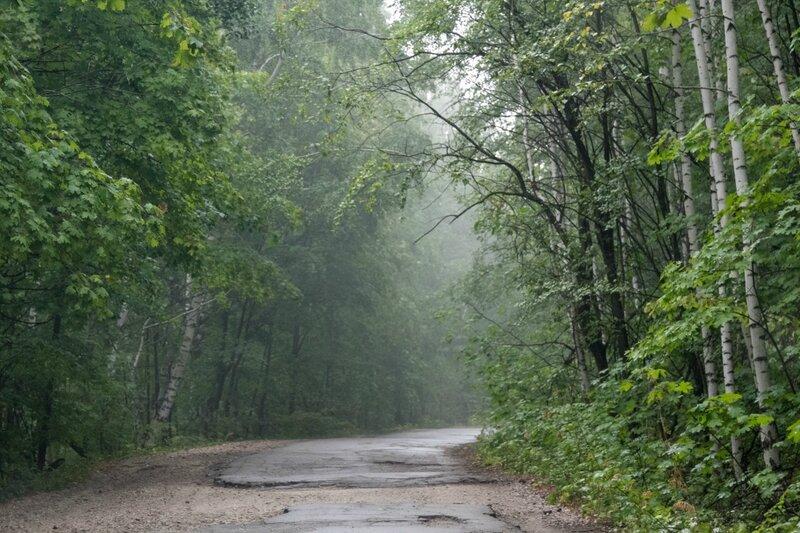 Дорога, Жигулевские горы