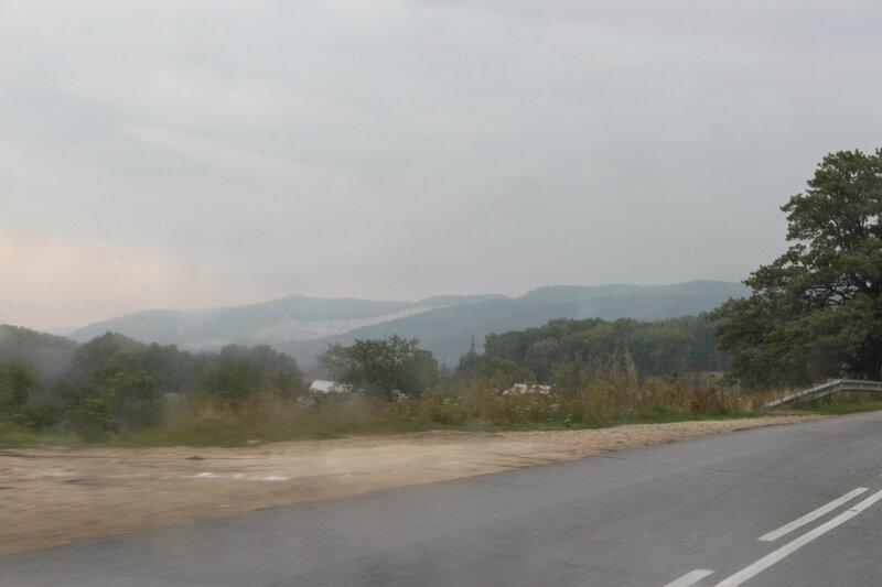 Дождь, Жигулевские горы