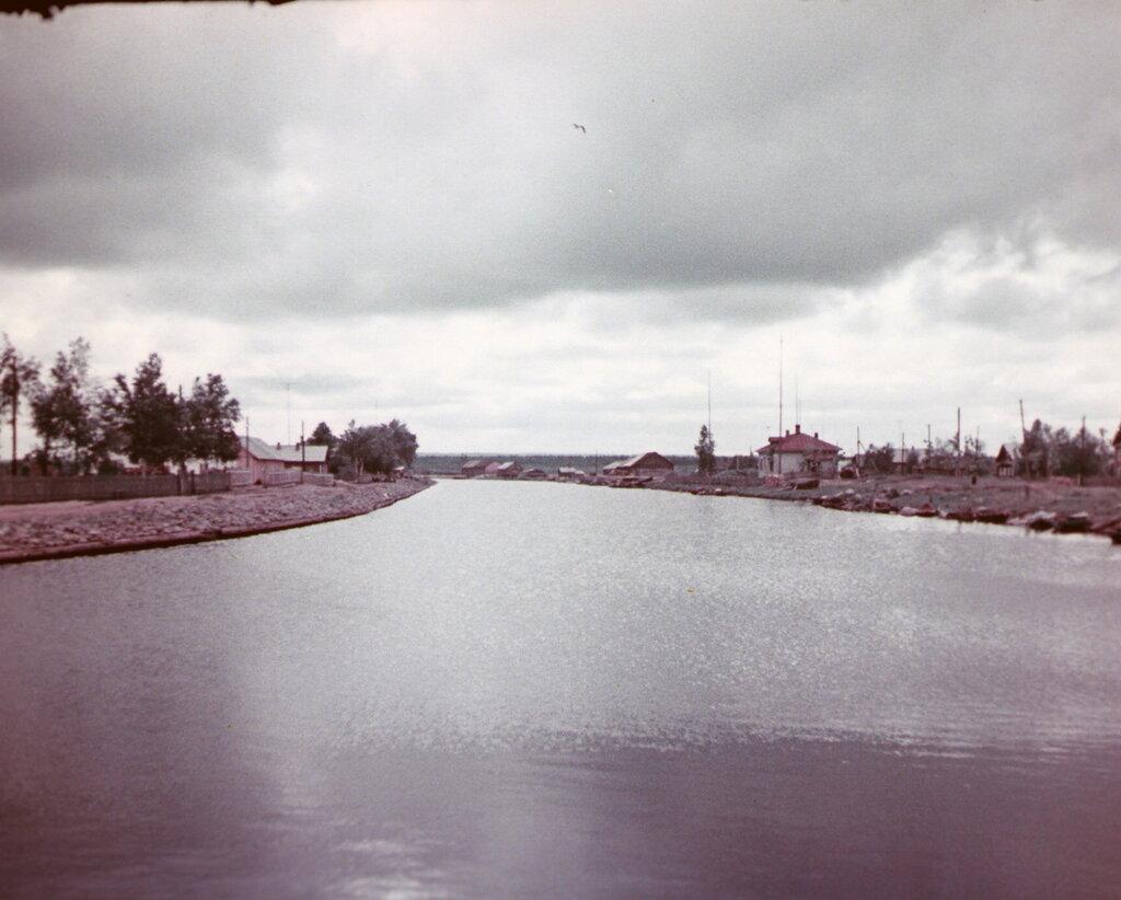 Онежский канал.