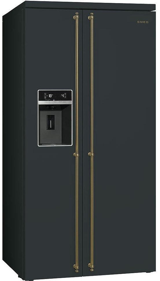 холодильник с льдогенератором и кулером для воды