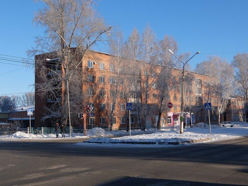 Юрга - Московская улица