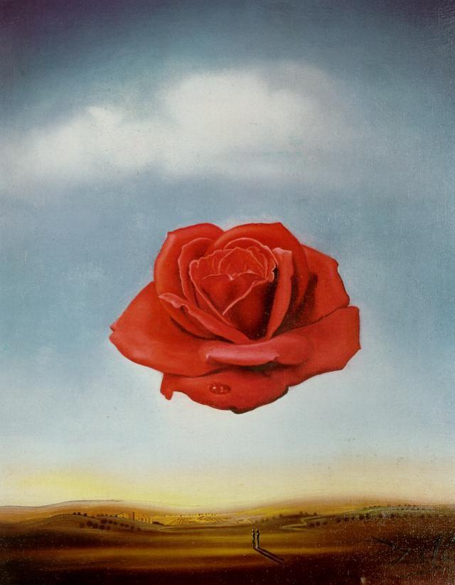 Сальвадор Дали, Медиативная роза, 1958