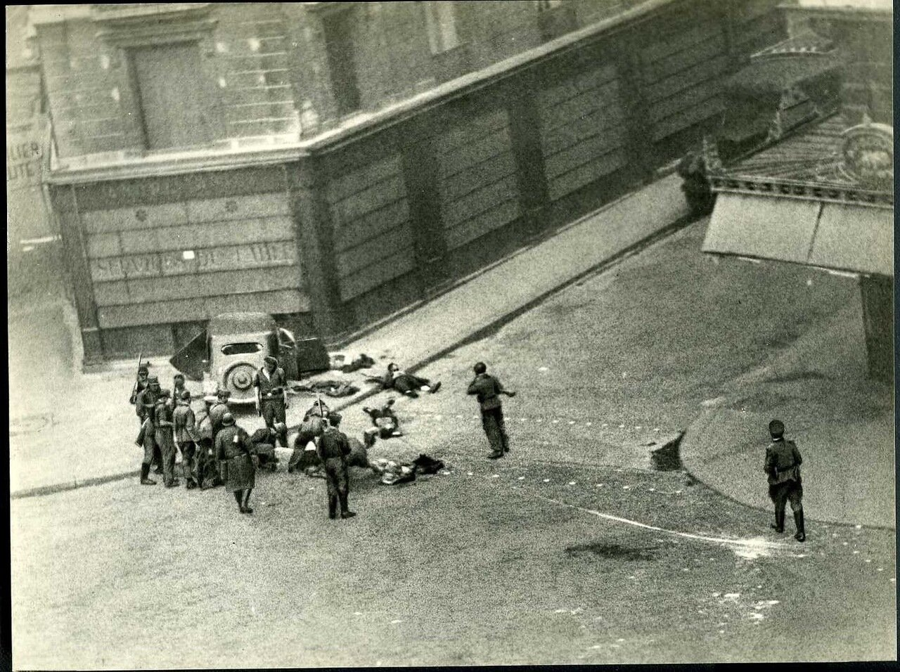 Трупы на улицах