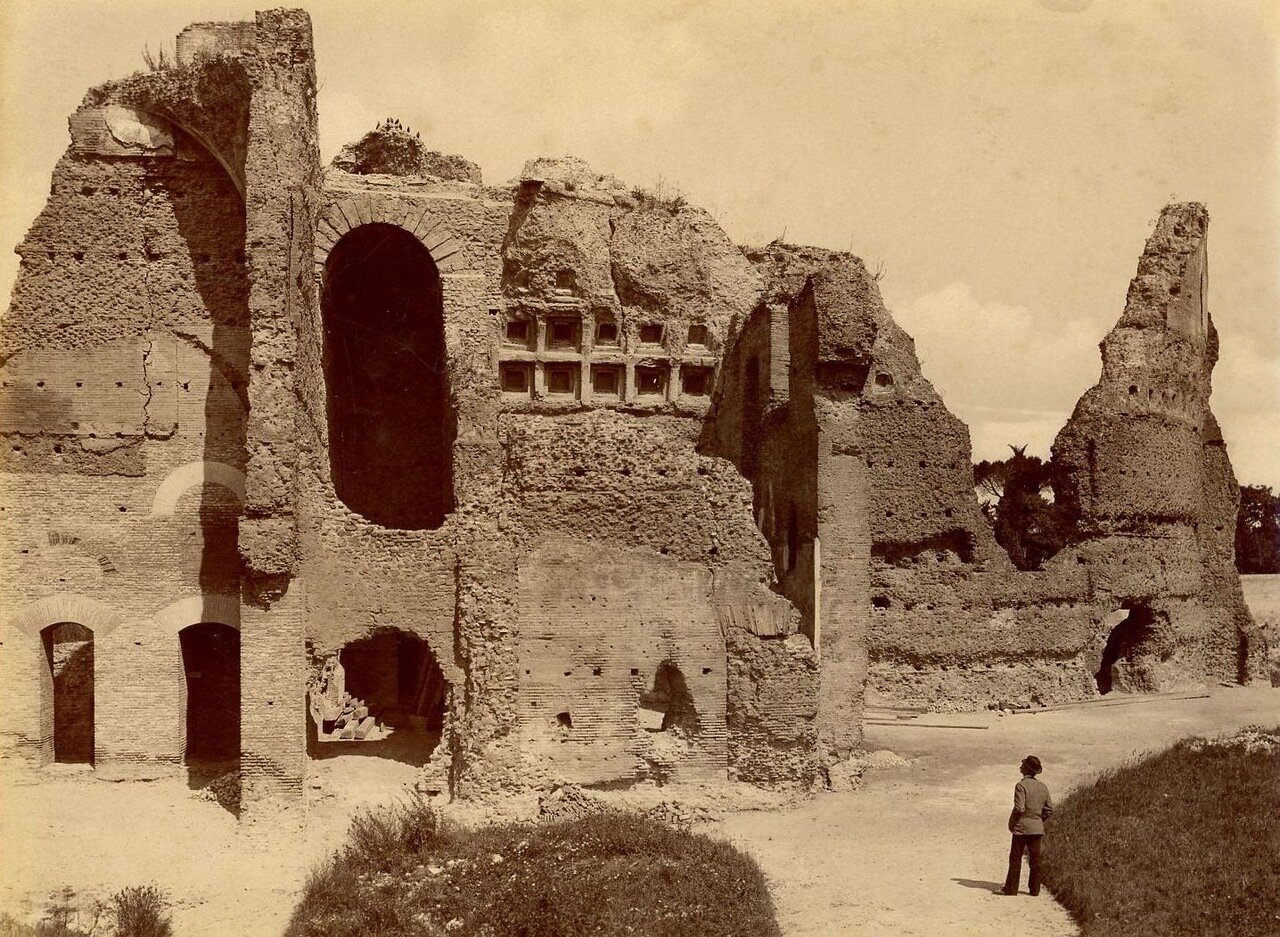 Палатин. Руины