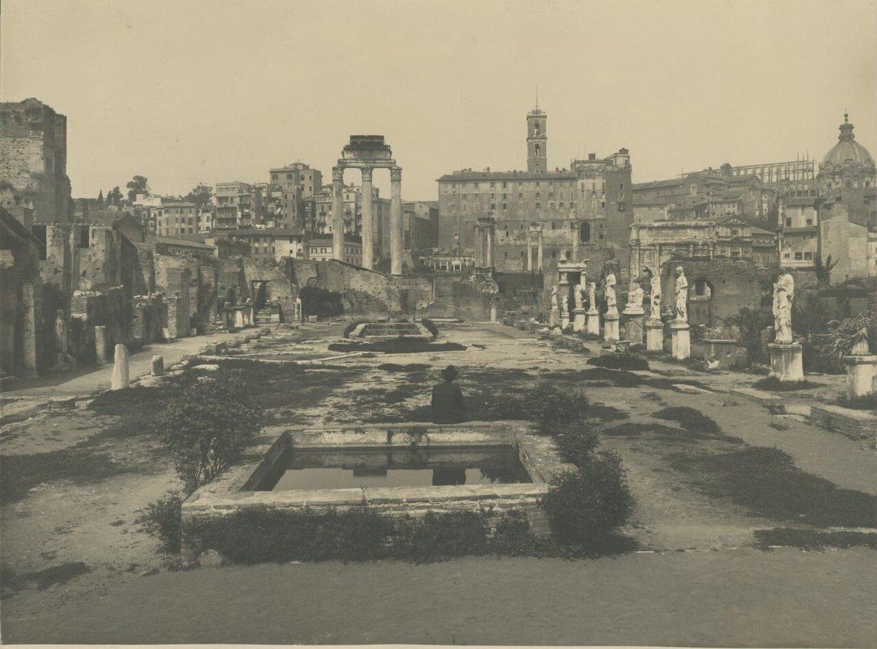 Форум. Храм Весты