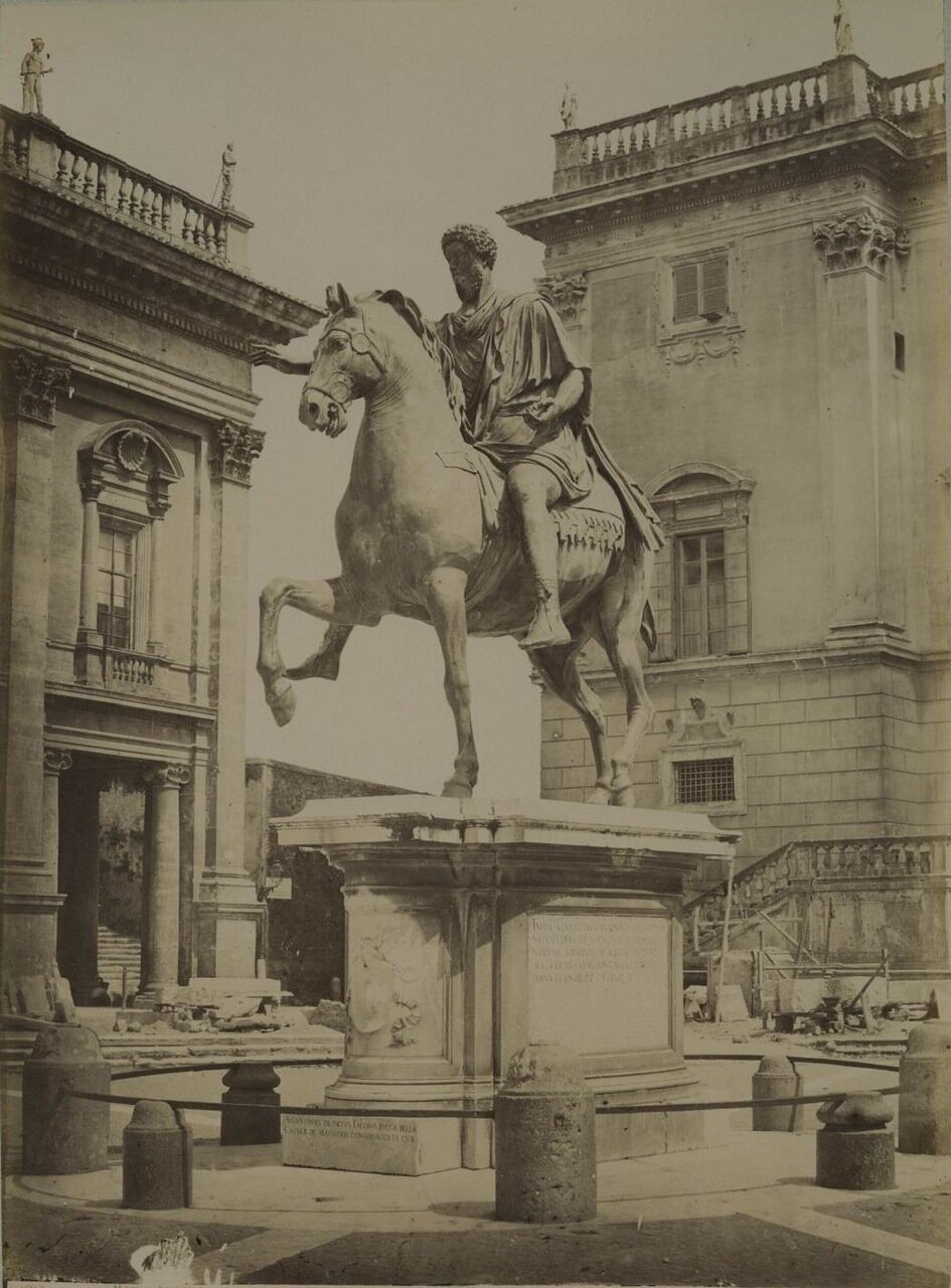 Конная статуя Марка Аврелия