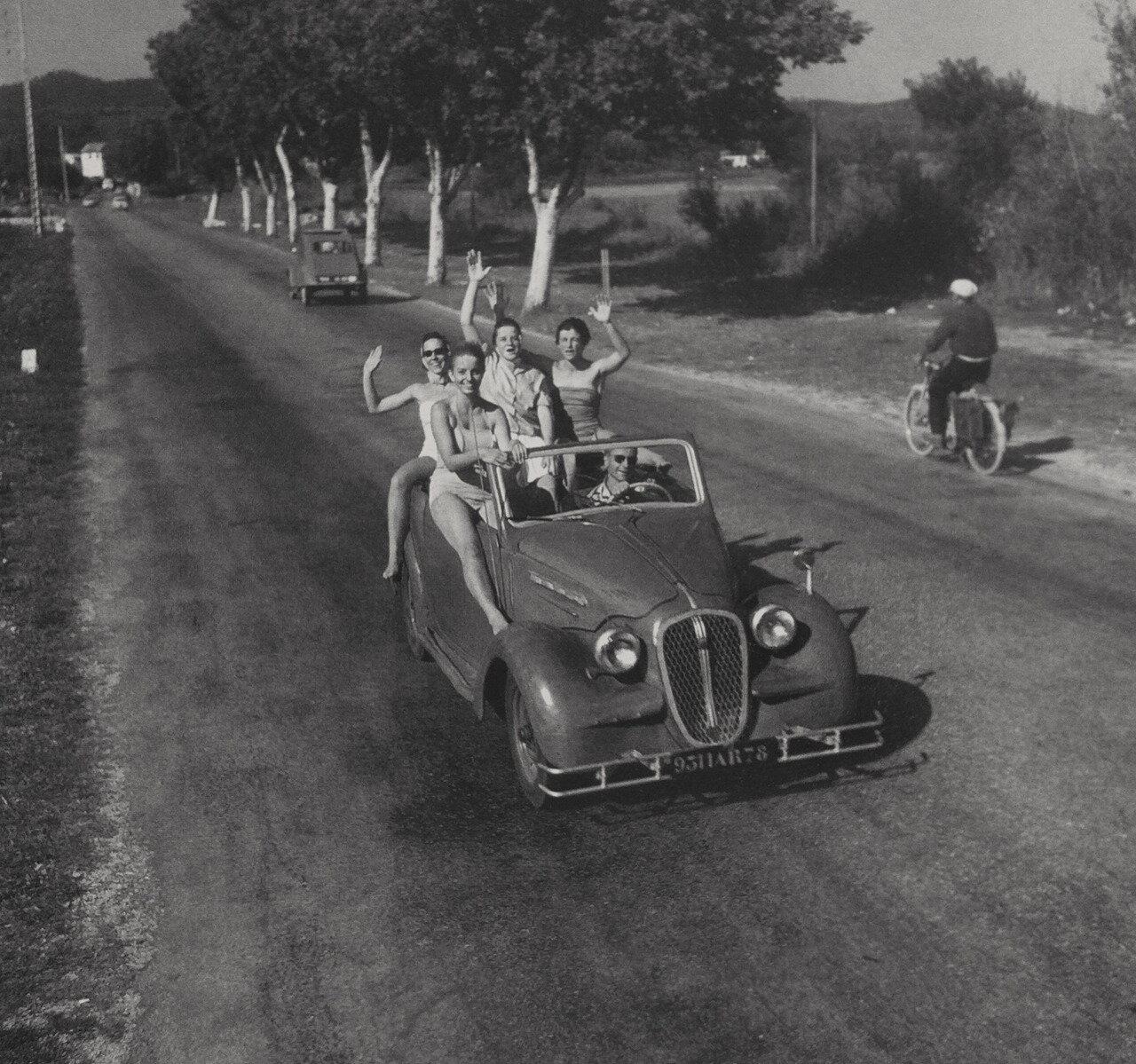 1959. Возле Сен-Максим