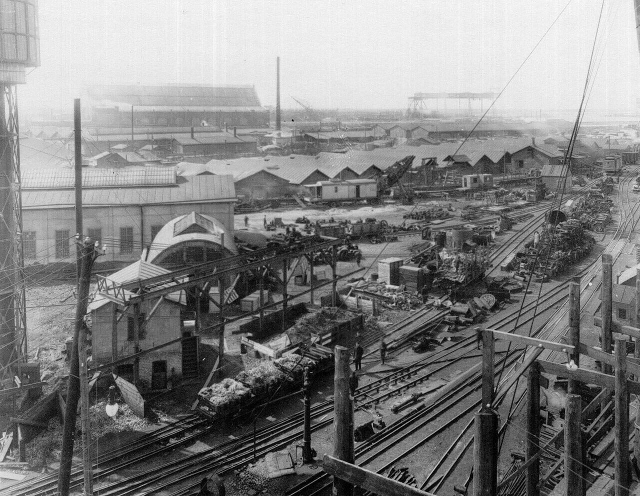 07. Вид на корпуса Путиловского завода