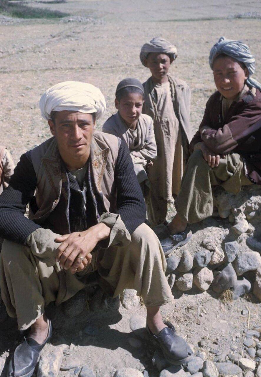 Семья афганцев
