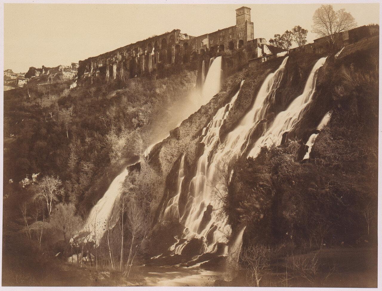 Водопады на вилле Мецената. 1857