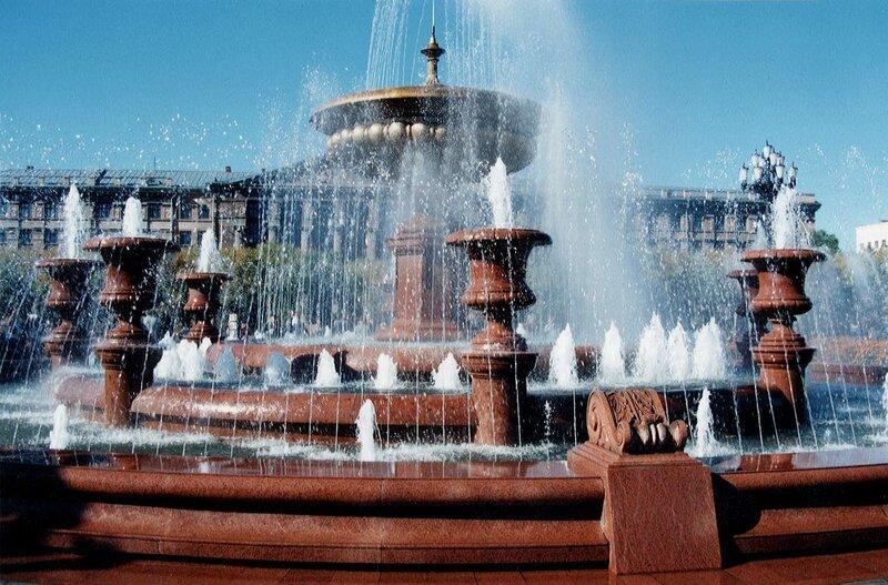 Khabarovsk - Fountain 2