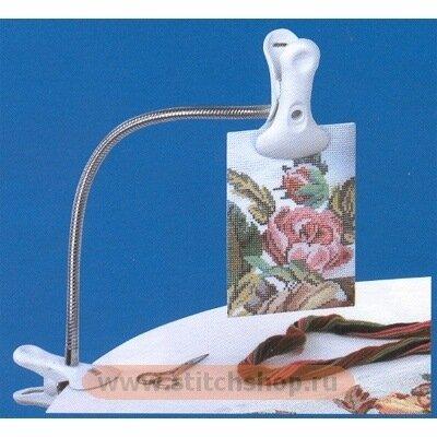 D51010 Гибкий держатель схем с двойной клипсой - Интернет-магазин товаров рукоделия вышивки крестом happy-hobby.