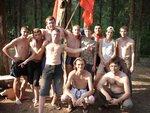 Комсомольский слет в Летешовке (было жарко)