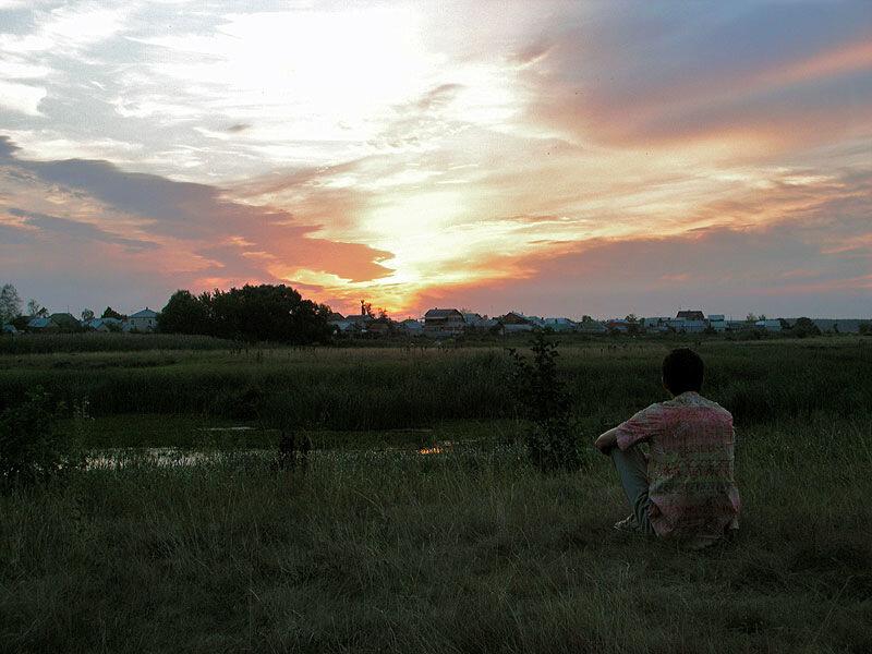 Созерцая закатное небо