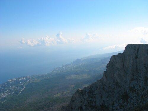 Вид на Алупку с Ай-Петри