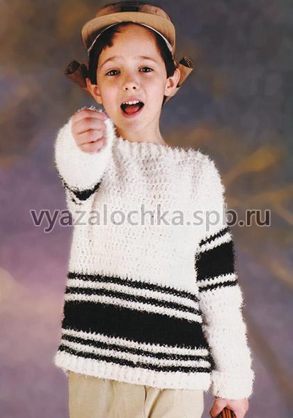 Свитер для мальчика 7 лет