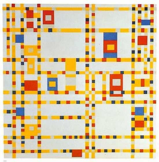 Неопластицизм Пит Мондриан / Piet Mondrian