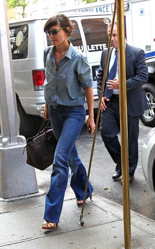 Katie Holmes in Joe's Jeans